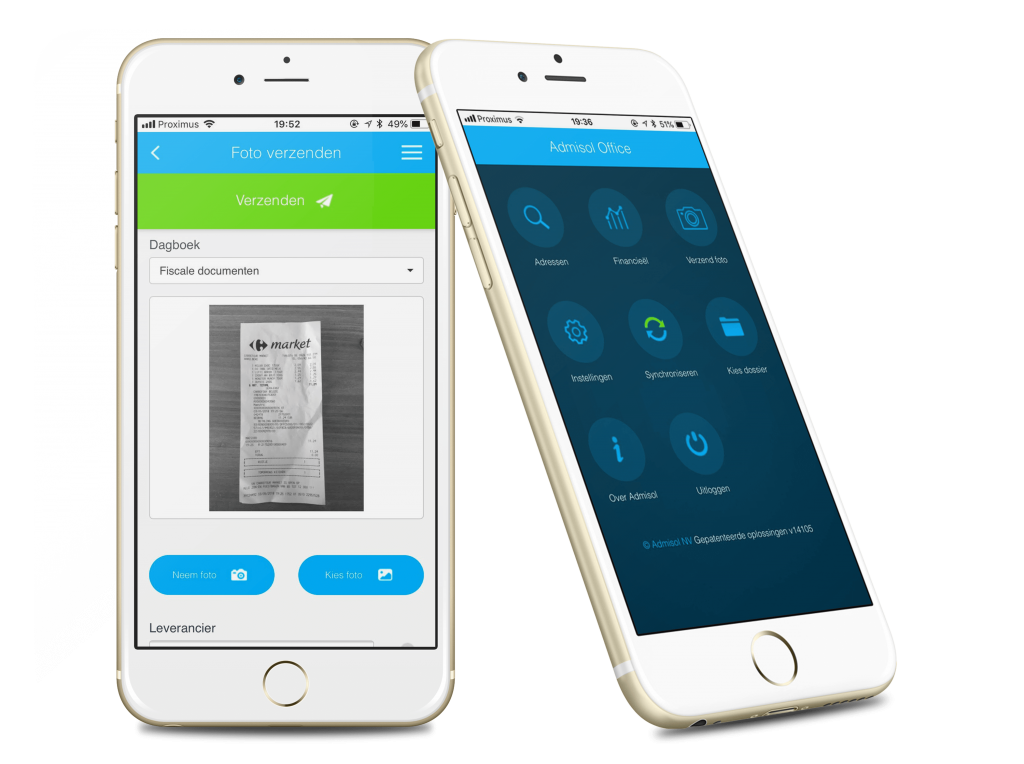 de Admisol Office app