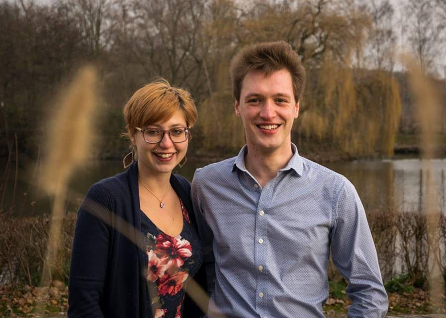 Shana en Robin van Het Prullenbos, trouwe klant van Boekhoudkantoor Karin Beeckman